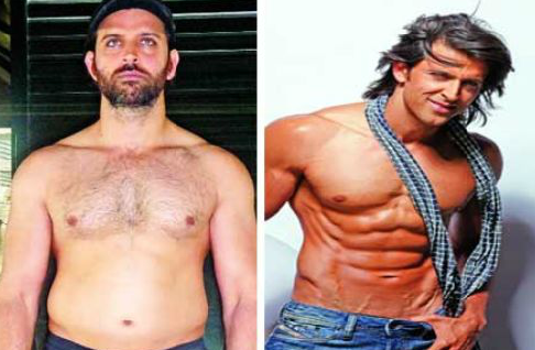 Secret Reveal Hrithik Roshan Belly to Six Pack Abs
