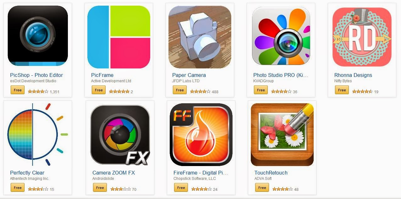 amazon free app 9 apps de fotos imagens totalmente gr tis apps do android. Black Bedroom Furniture Sets. Home Design Ideas