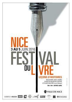 Festival du livre Nice 2016