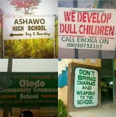 funny school names