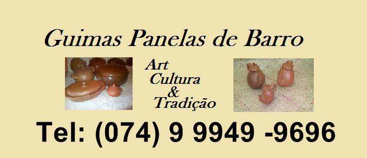 Várzea do Poço:Guimas Panelas de Barro da artesã Rosalia Guima