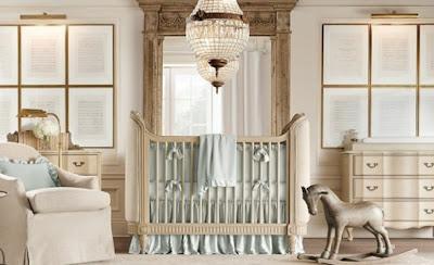 dormitorio elegante bebé varón