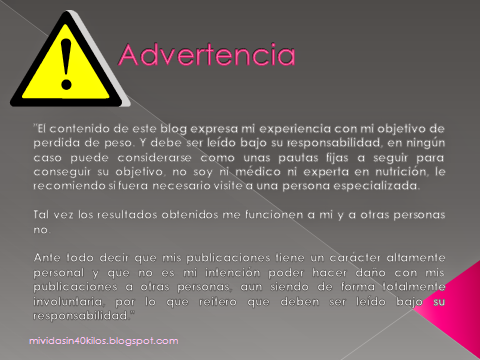 Advertencia a lectores
