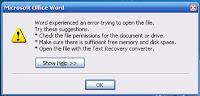 Cara Memperbaikai Dokumen Microsoft Word yang Rusak
