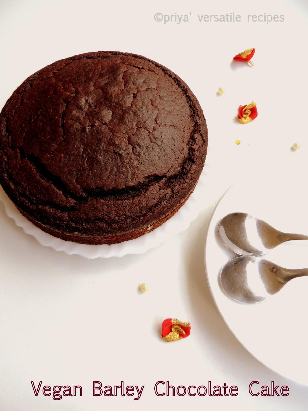 Vegan Barley Chocolate Cake Recipe Recipes