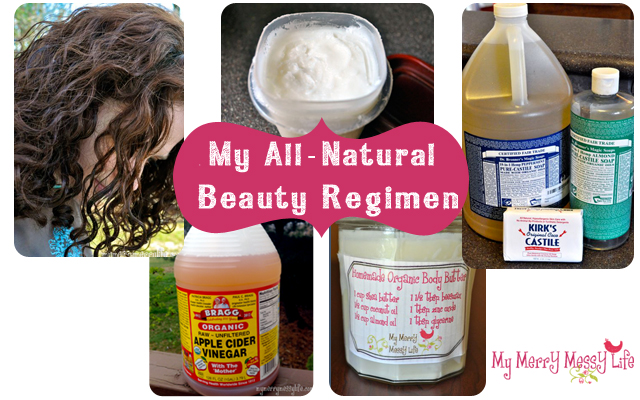 All-Natural, Homemade Beauty Regimen