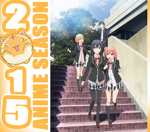 Yahari Ore no Seishun Love Comedy wa Machigatteiru. Zoku (Oregairu Season 2)