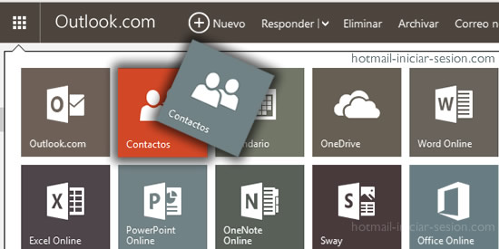 Importar cuentas a Outlook Iniciar Sesión - Hotmail