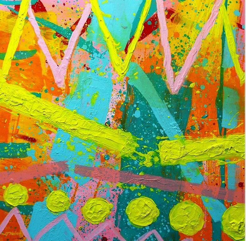 Im genes arte pinturas cuadros abstractos al leo for Imagenes de cuadros abstractos con texturas