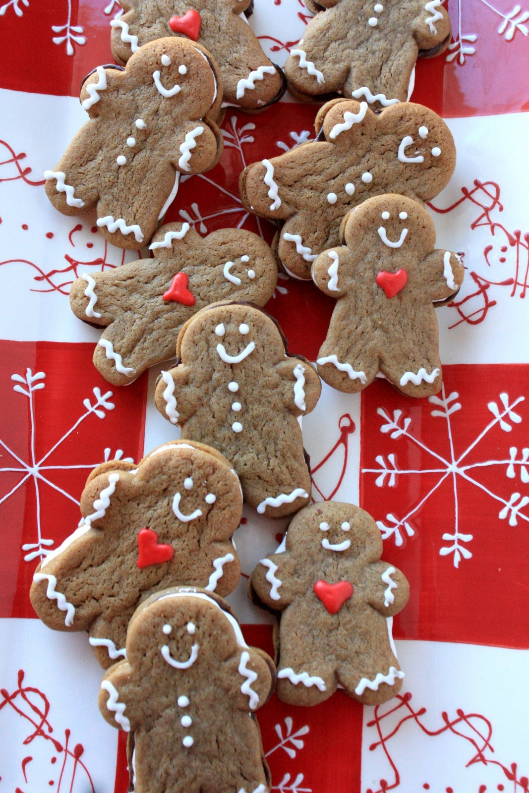 This is a picture of Priceless Gingerbread Men Image