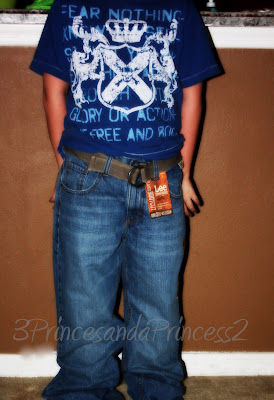 belted jean