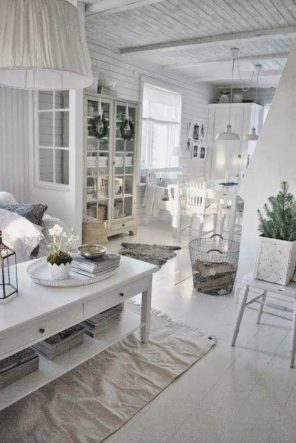Rideaux Cuisine Contemporain : Moois en liefs mooi wonen in wit