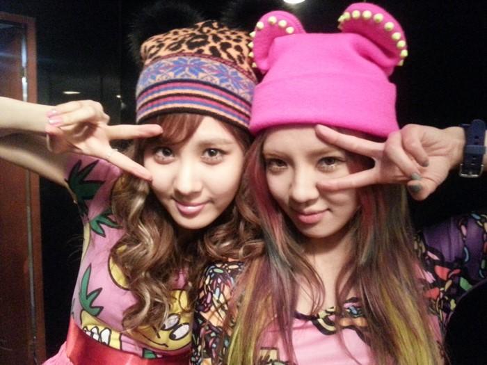 { 130103 } Seohyun & Hyoyeon Selca + Yoona Twitter Picture 130103hyoseo