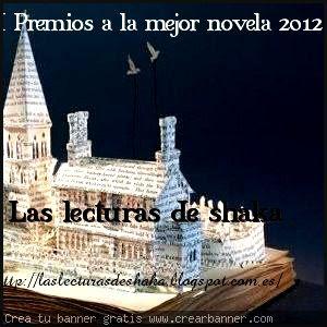 PREMIO A LA MEJOR NOVELA ESPAÑOLA DE 2012
