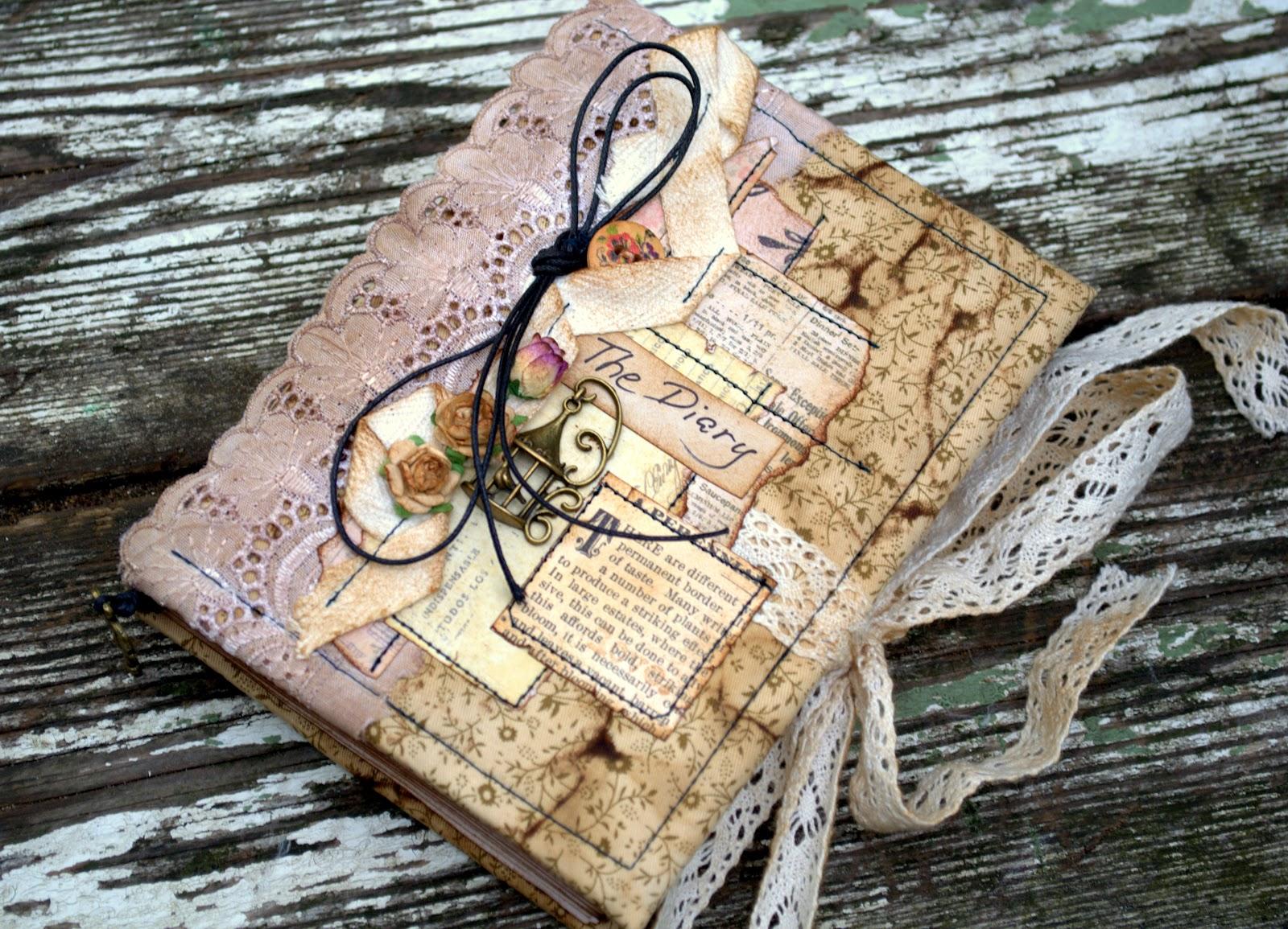 Как сделать старый дневник своими руками