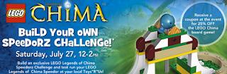 Chima Challenge - Lego Legends