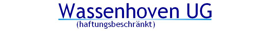 Wassenhoven UG (haftungsbeschränkt)