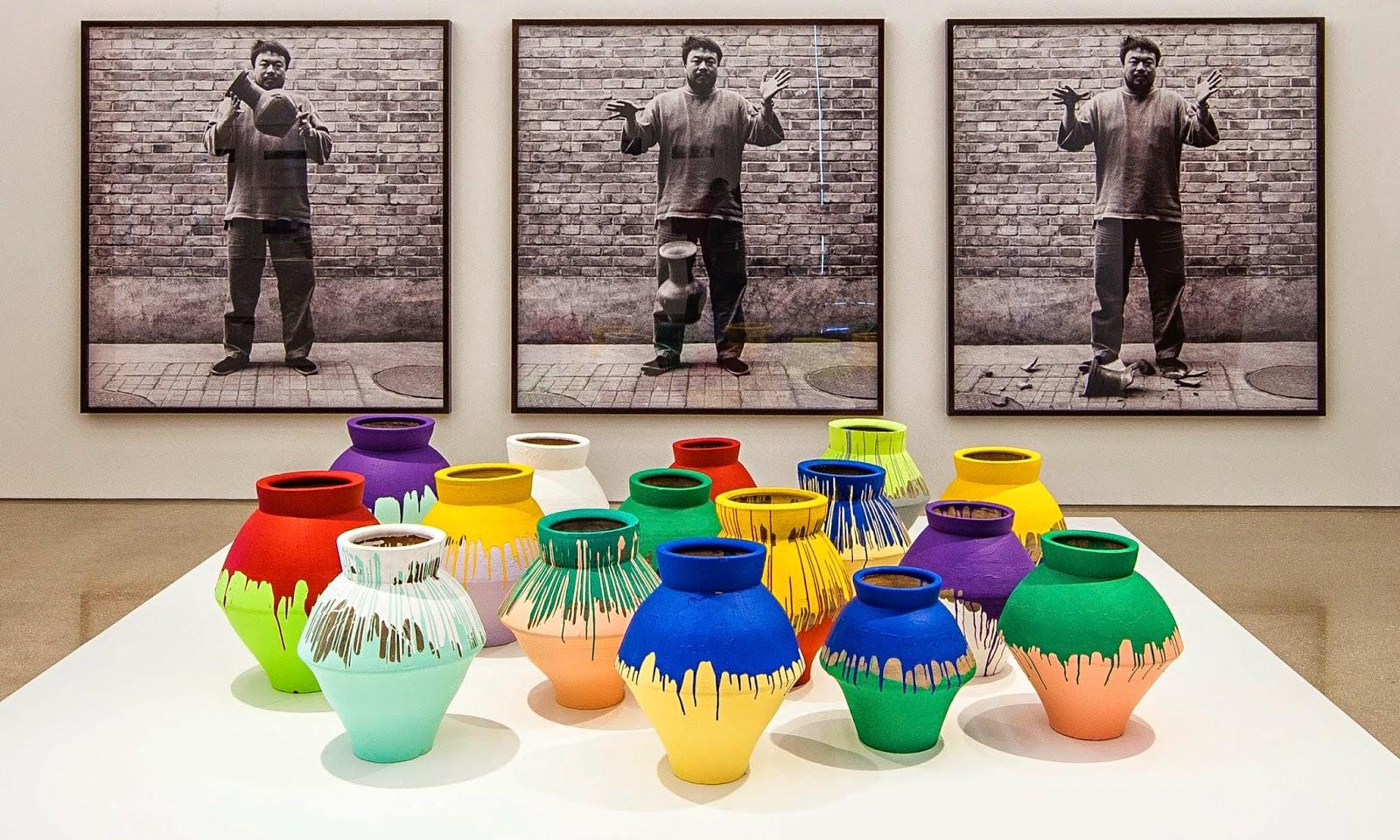 Ai Weiwei - Potes e Vasos - Neolítico