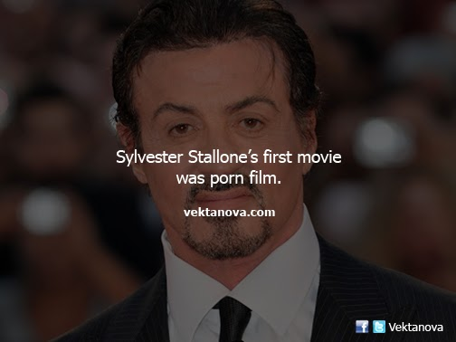 Sylvester Stallone's First Movie was Pornographic Film