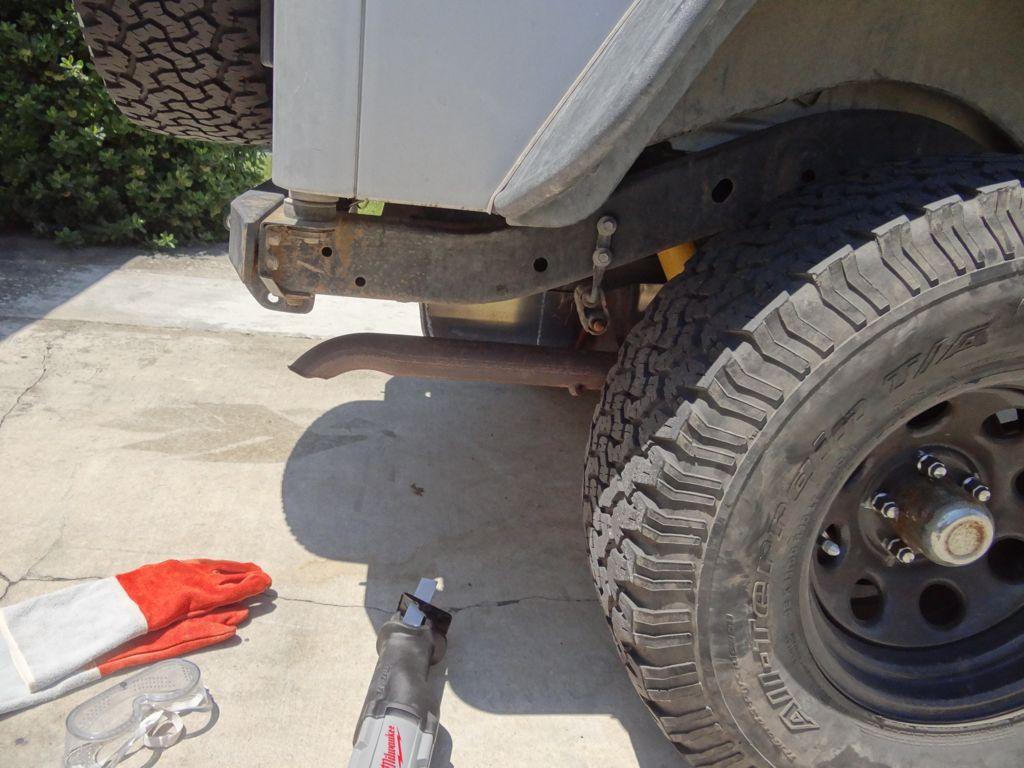 welding near gas tank