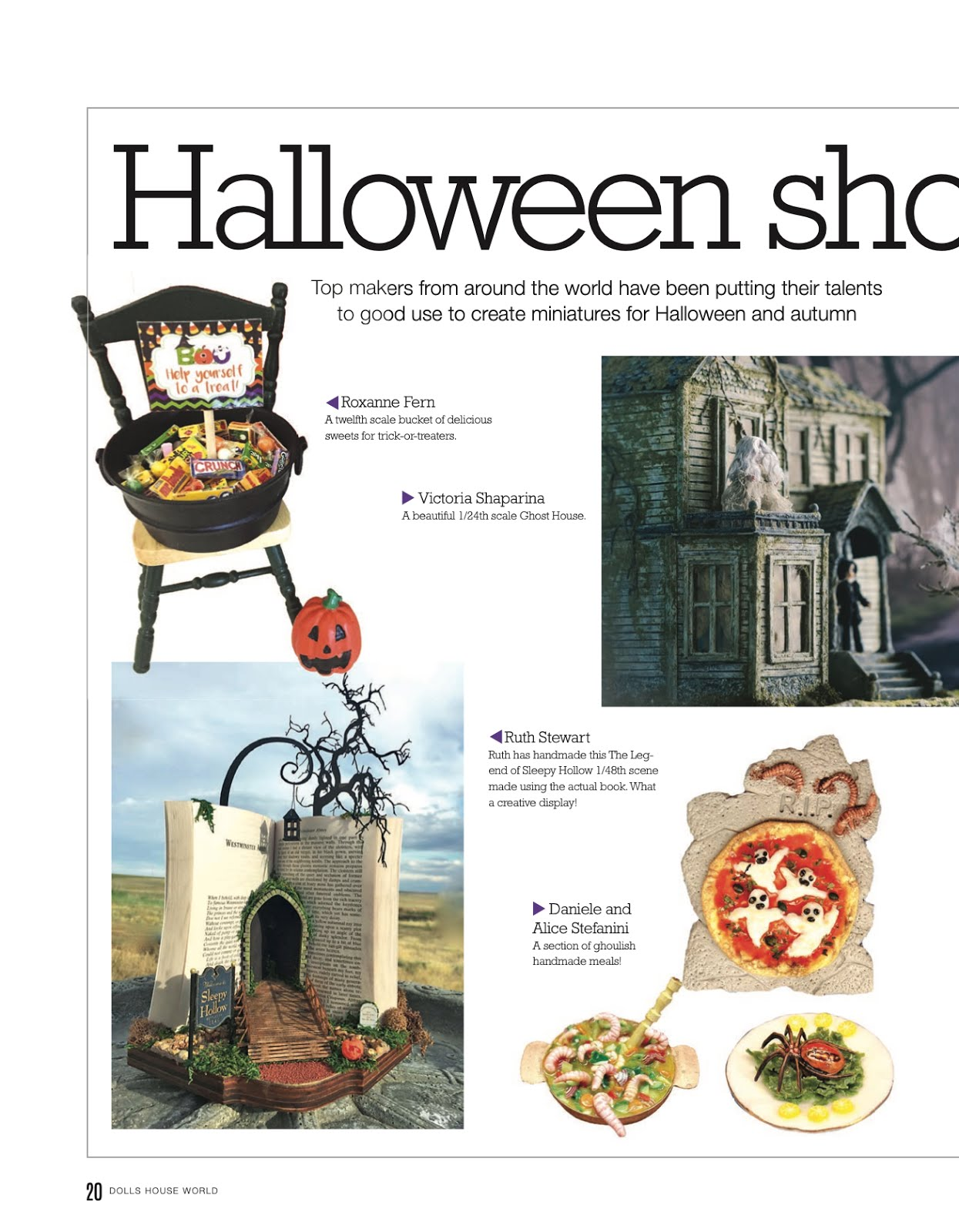 DollsHouse World Magazine October 2019 Issue #325