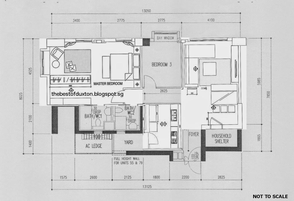 Pinnacle Duxton Hdb S1 Flat For Sale Floor Plans