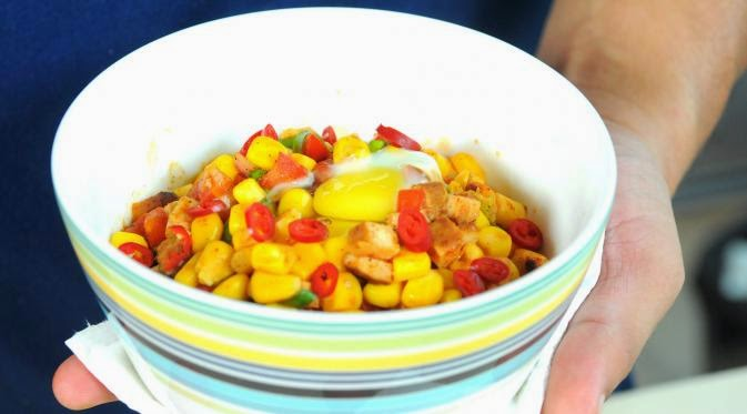 paprika chicken corn