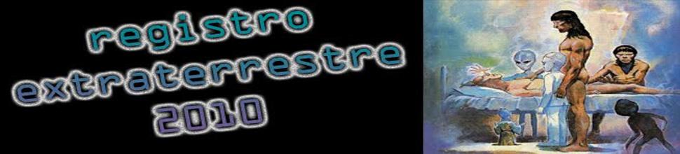 Registro Extraterrestre 2010