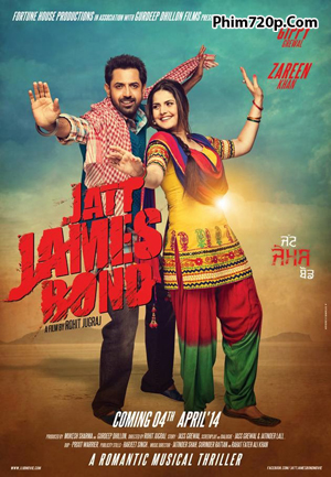 Jatt James Bond 2015 poster