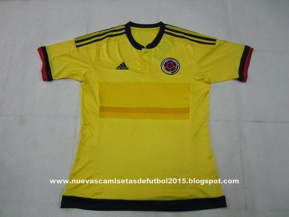 Camiseta Adidas Seleccion Colombia 2015 Camisetas Colombia 2015