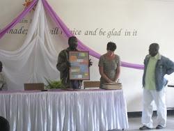Goodbye ceremony at Karanse