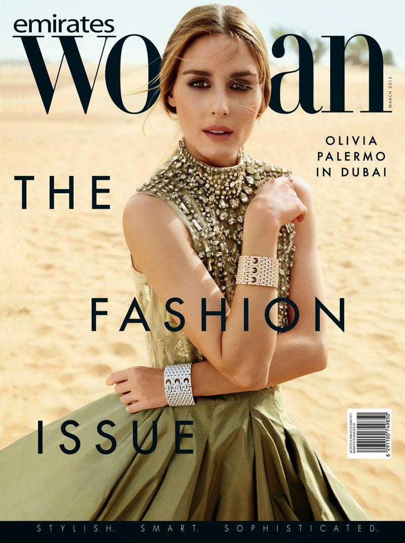Socialite, Model, Actress @ Olivia Palermo by Andoni Mesa & Arantxa Santamaria for Emirates Woman March 2015