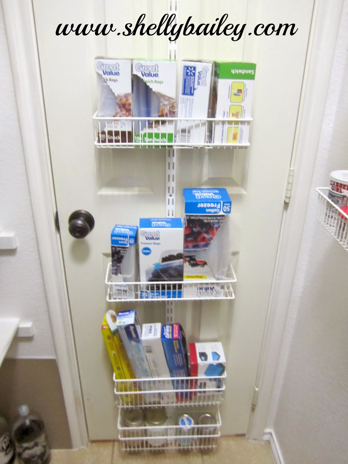 shelly bailey pantry tour and video how i organize my