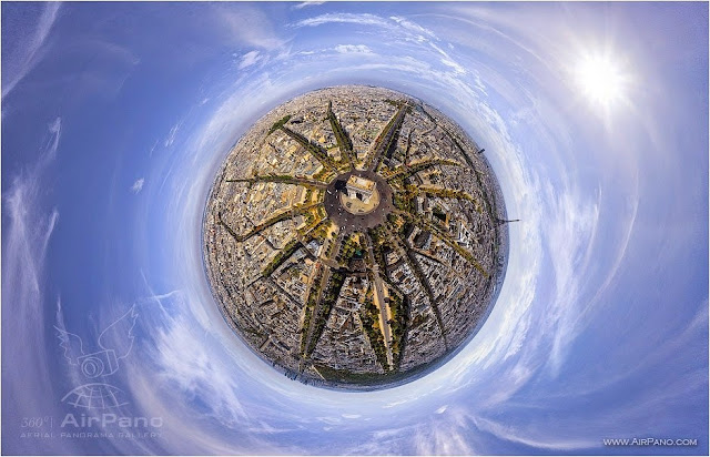 AirPano Planets, fotografías panorámicas 360º, Paris
