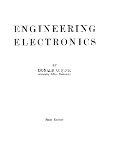 Fink Engineering Electronics pdf