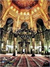 من داخل مسجد المرسي ابو العباس