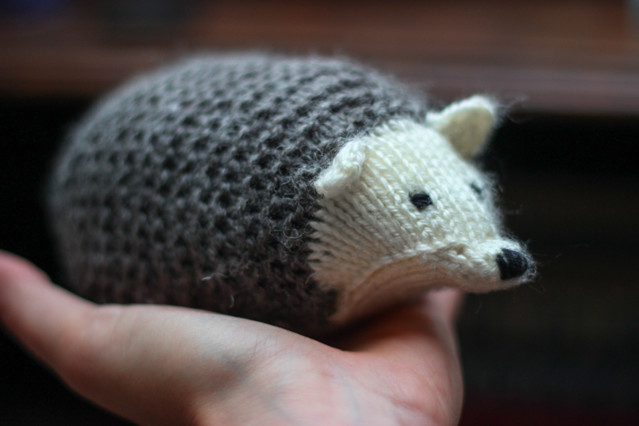 Knit Hedgehog 2013