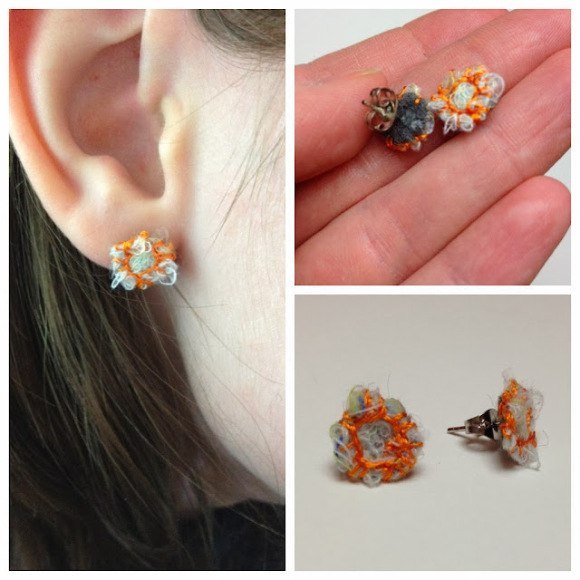 https://www.etsy.com/listing/174393650/fiber-earrings-with-cream-and-orange?