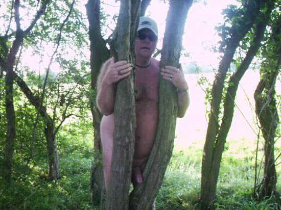 outdoorsman07012012_03 Chubby Sexy Guys Outdoors with their Cocks Hanging Out