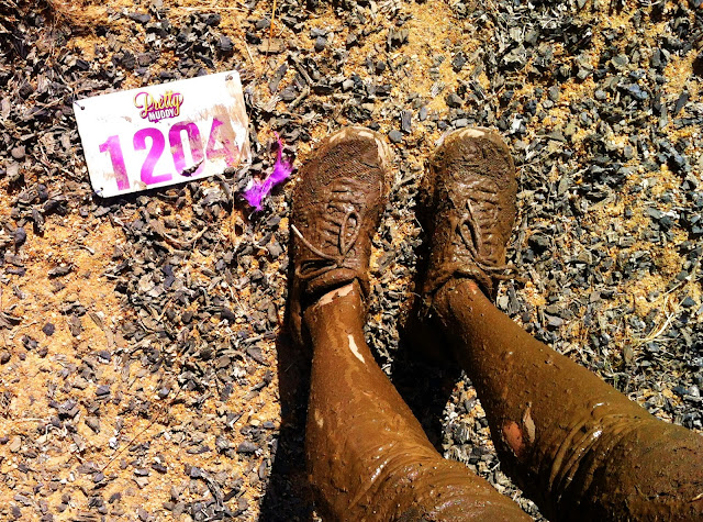 pretty muddy race bib