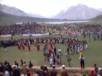 Shandur Festival 2011 - - Began Today at the World's Highest Polo Ground