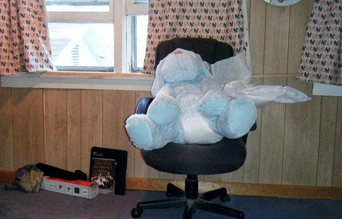 How to Change a Disposable Adult Diaper While Sitting ~ Adult ...