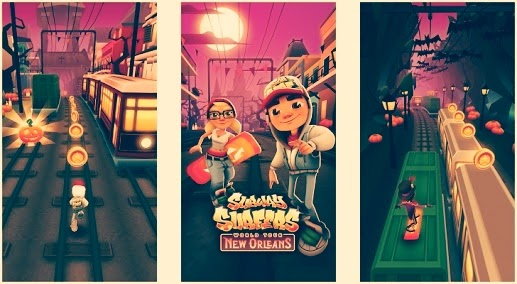 Download Subway Surfers : The most famous Android  game