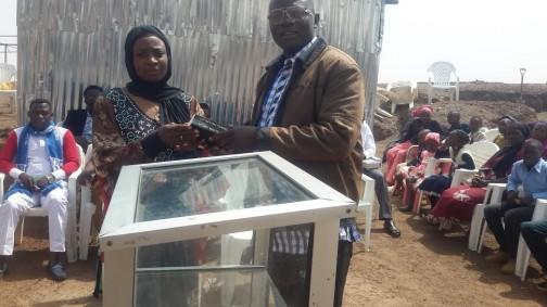 muslim woman who donated bible