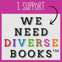 "I support ""We need diverse books"" (TM)"