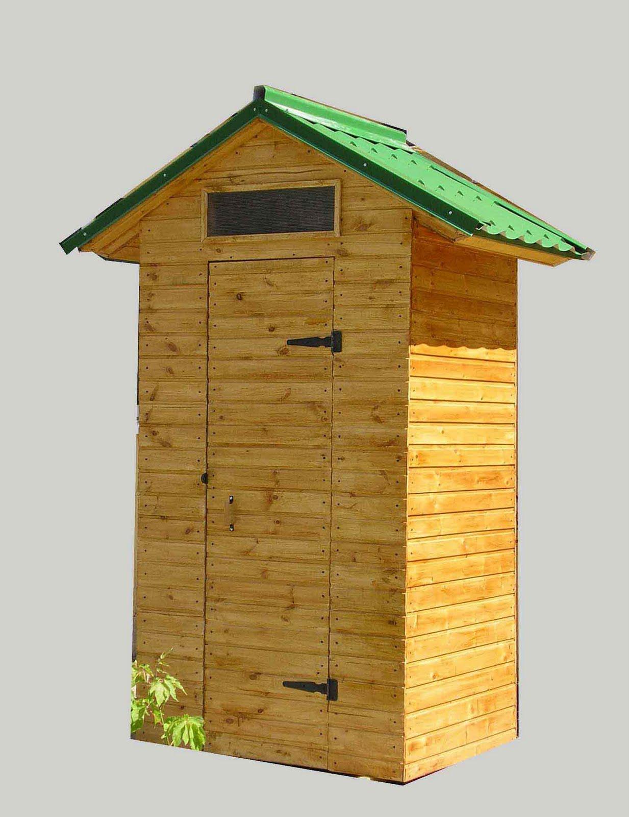 Каркас туалет на даче