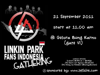 2011 Linkin Park concert to Indonesia