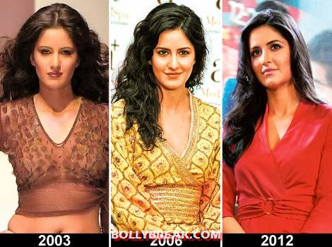 Katrina then and now - Katrina Kaif (2003 - present)