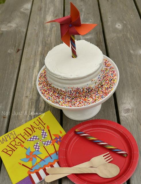 1 cake 3 ways pinwheel cake topper