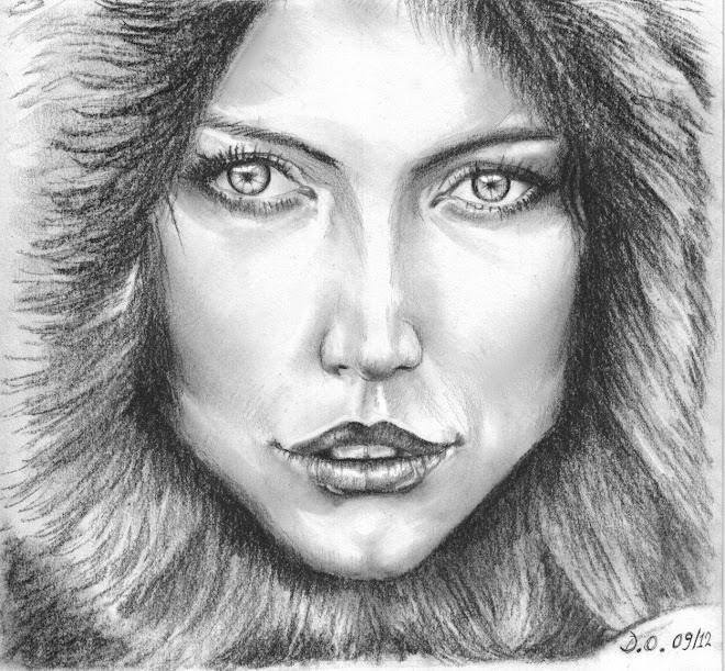 Femme russe en hiver
